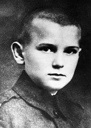 Кароль Войтыла (будущий Папа Римский Иоанн Павел II), 1932 г.