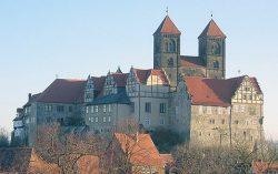 Монастырь Кведлинбург на горе Шлоссберг