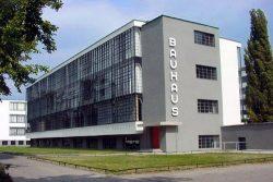 Здание школы Баухауз в Дессау