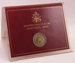 2 euro Vatican 2004