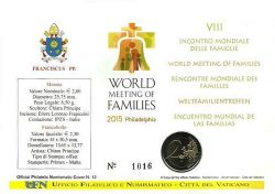 2 euro Vatican 2015 Numisbrief