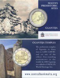2 euro malta 2016 Ggantija coincard