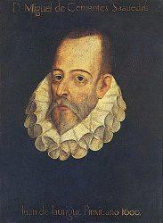 Портрет Мигеля де Сервантеса (Хуан де Хауреги, 1600)