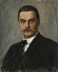 Альберт Эдельфельт. Автопортрет (ок. 1887-1890)