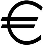 Знак валюты евро