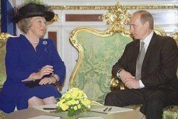 Королева Беатрикс с В.В.Путиным (июнь 2001 года)