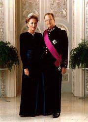 Альберт II со своей супругой Паолой