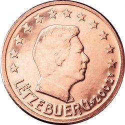 5 евроцентов, Люксембург