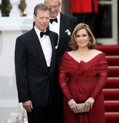 Великий герцог Анри и его супруга Мария Тереза