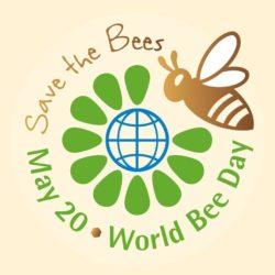 Логотип Всемирного дня пчёл