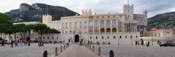 Фасад княжеского дворца Монако
