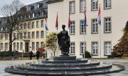 Памятник Герцогине Шарлотте в г.Люксембурге