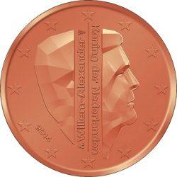 2 евроцента, Нидерланды (тип 2)