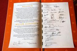Акт о передаче власти 30 апреля 2013 года
