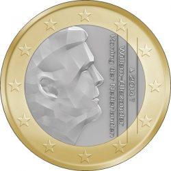 1 евро, Нидерланды (тип 2)