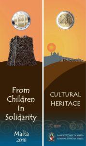 Malta 2 euro 2018 Culture bookmarks