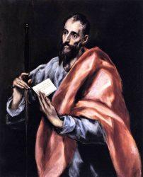 «Святой Апостол Павел» (1610—1614; Museo del Greco, Толедо)