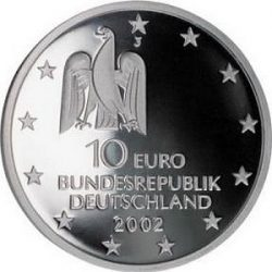 10 евро, Германия (Выставка «documenta» в Касселе)