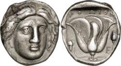 Tetradrachm from Rhodes