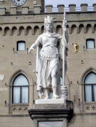 Статуя Свободы (ит. Statua della Liberta)