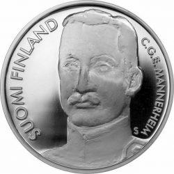 10 евро, Финляндия (300 лет Санкт-Петербургу и барон Маннергейм)