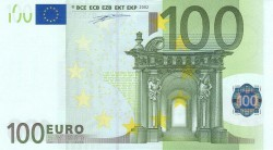 100 евро, лицевая сторона