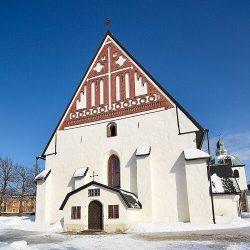 Собор в г.Порвоо, где был проведен сейм 1809 года
