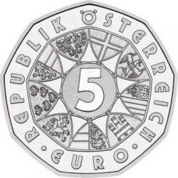 5 евро, Австрия (250 лет со дня рождения В.А. Моцарта)