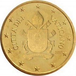 10 евроцентов, Ватикан (тип 5)