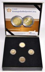 Набор со цветными монетами 2014 года