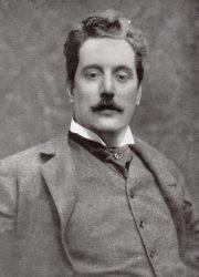 Джакомо Пуччини, 1900 г.