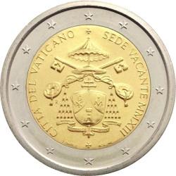 2 евро, Ватикан (Sede Vacante)