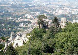 Вид на город со стороны Замка мавров