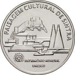 5 евро, Португалия (Культурный ландшафт г.Синтры)