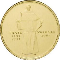1/4 евро, Португалия (Святой Антоний Падуанский)