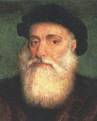 Портрет Васко да Гама (Грегорио Лопеш, ок. 1524 г.)