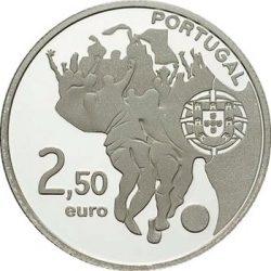 2,5 евро, Португалия (Чемпионат мира по футболу в ЮАР)