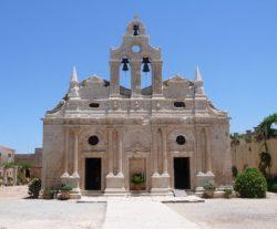 Церковь монастыря Аркади