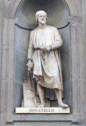 Памятник Донателло в Уффици
