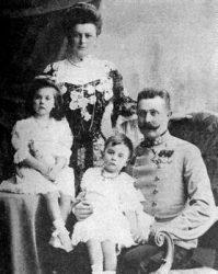 Эрцгерцог Франц Фердинанд с семьёй