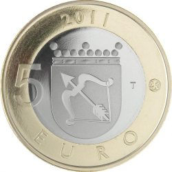 5 евро, Финляндия (Саво)