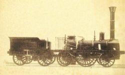 Паровоз Adler, фото 1850 г.