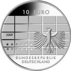 10 евро, Германия (50 лет Немецкому федеральному банку)