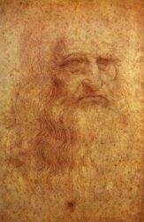 Туринский автопортрет Леонардо да Винчи (ок. 1510-1515 гг.), Королевская библиотека, Турин